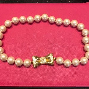 Kate Spade Pearl Necklace, Bracelet and earrings